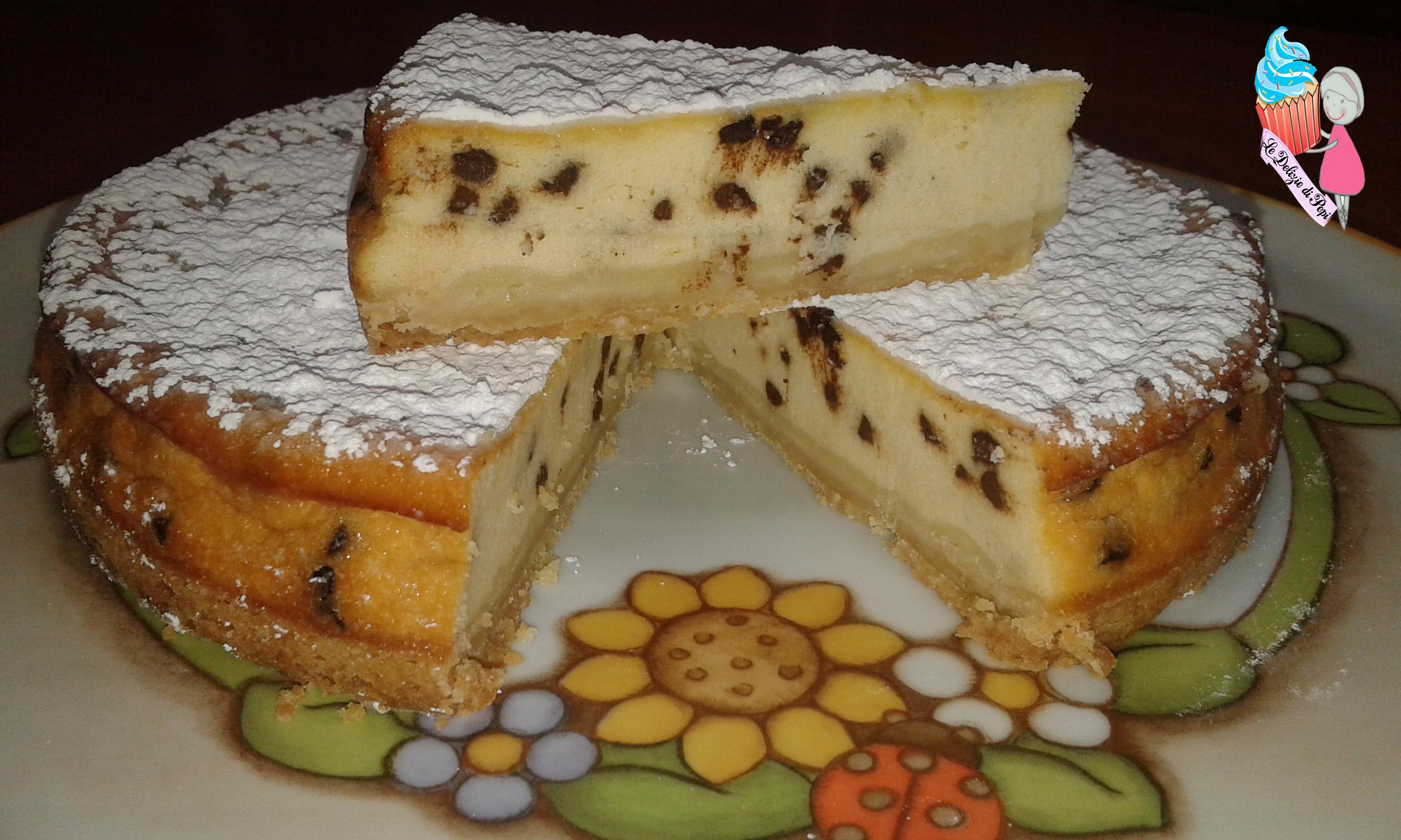 Cheesecake cotta alla vaniglia