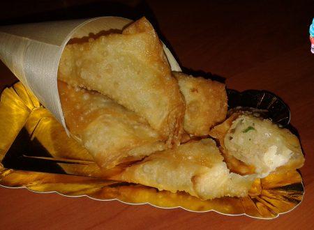 Fagottini di patate con tonno o salmone