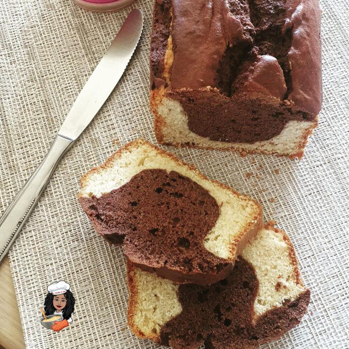 Plumcake vaniglia e cacao