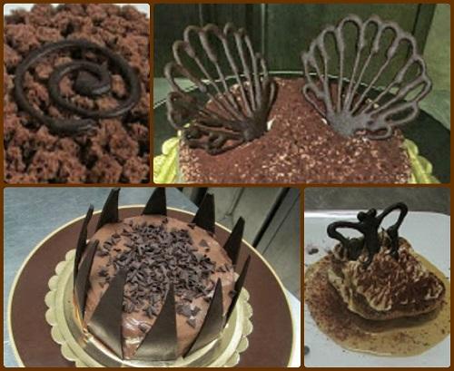 decorazioni con il cioccolato le dolci creazioni di On decorazioni con cioccolato