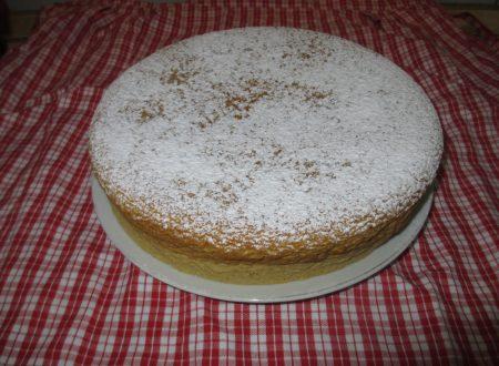 TORTA DI MANDORLE: