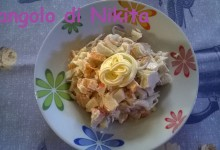 Insalata di polpa di granchio (surimi)