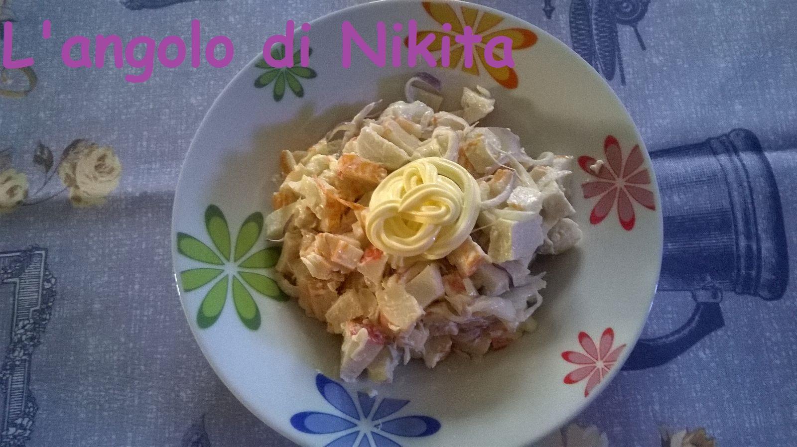 Polpa di granchio (surimi)