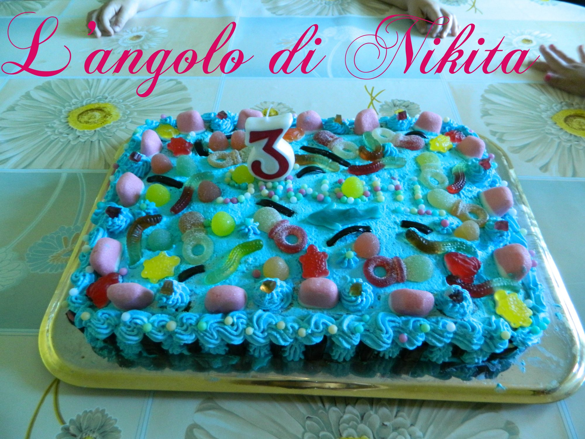 Torta caramelle gommose