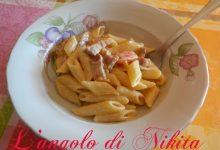 Pennette pancetta e pomodorini