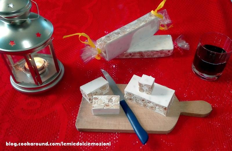 Torrone bianco morbido di Natale