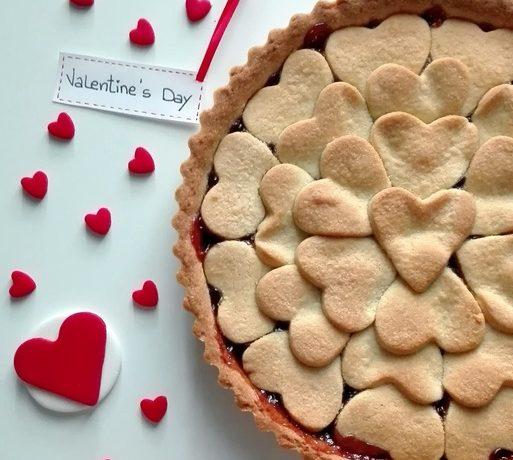 Crostata Pioggia di Cuori – Valentine's Day