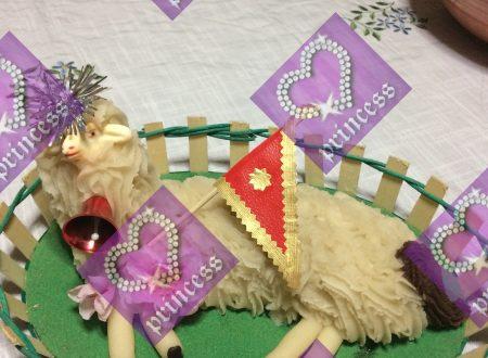 #LeRicetteDiPasqua:Agnellino in pasta di mandorle
