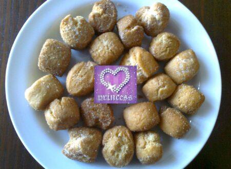 #RicetteDiCarnevale: Castagnole alla ricotta farcite con crema pasticcera