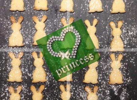 #RicetteDiPasqua: Coniglietti di frolla alla nocciola e cioccolato bianco