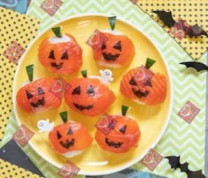 Mini sushi di halloween