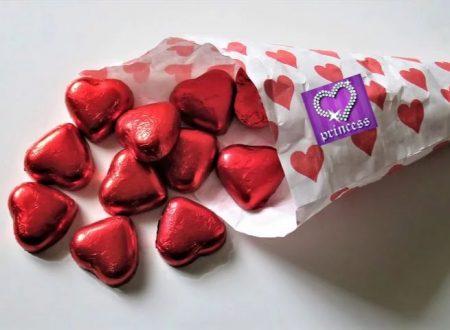 #RicetteperSanValentino : Cuori di cioccolato e arancia