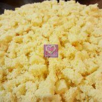 Torta Mimosa senza glutine all'ananas