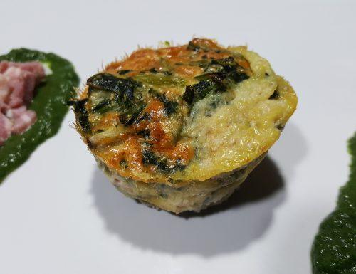 Videoricetta Muffins di verdure miste