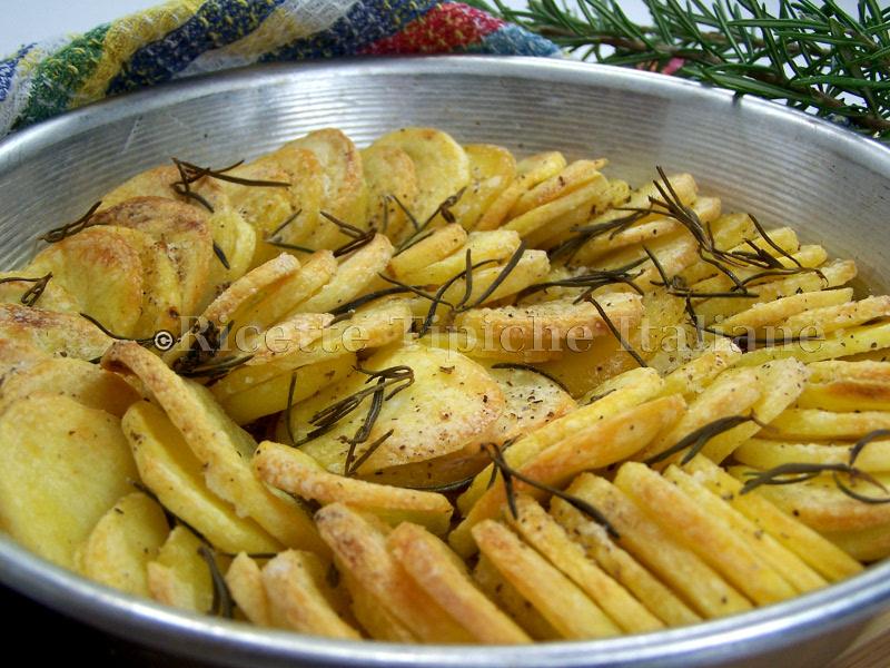 Patate al forno croccanti cris diary for Le ricette italiane