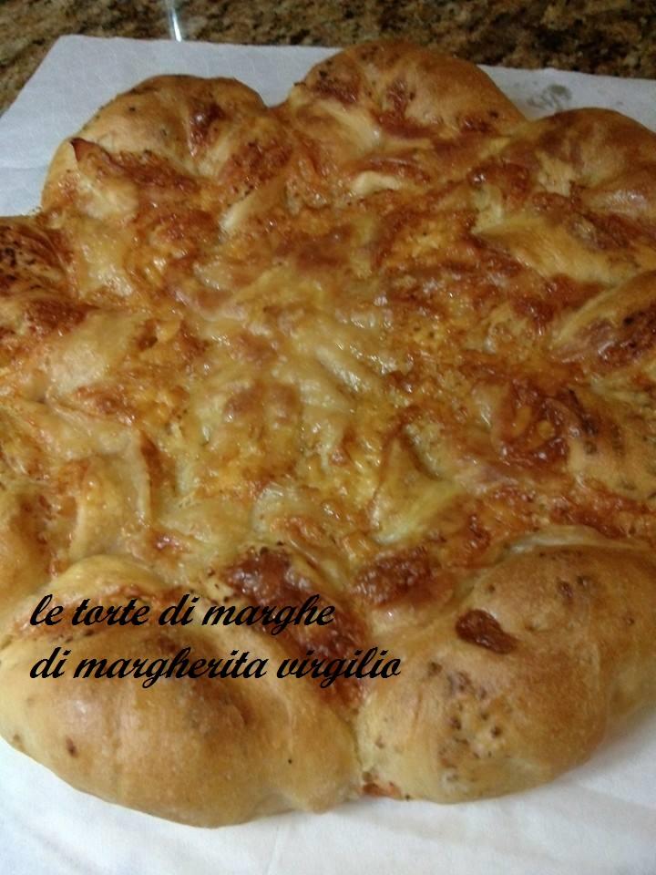 Fiore pan brioche salato ricetta facilissima