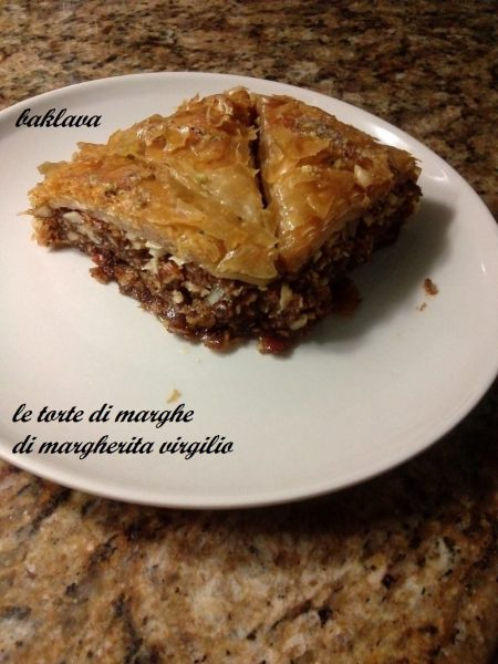 Baklava dolce tipico della grecia