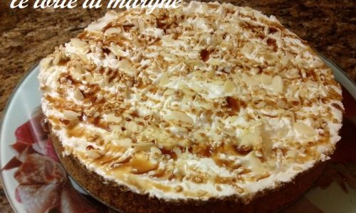 Cheesecake banana e caramello banoffee..