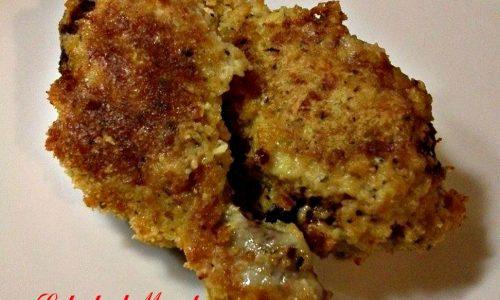 Fusi di pollo gratinati al forno con panatura croccante