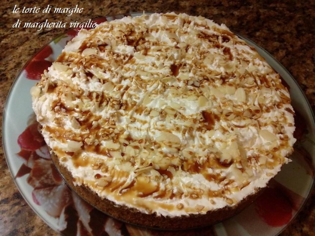 cheesecake banana e caramello