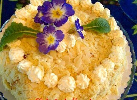 torta mimosa al cocco