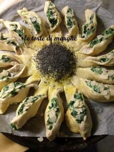 girasole con verdure
