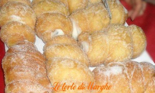 Cartoccio con ricotta dolce siciliano