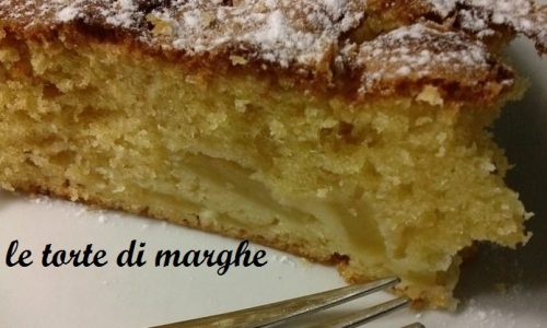 torta di mele morbida e soffice