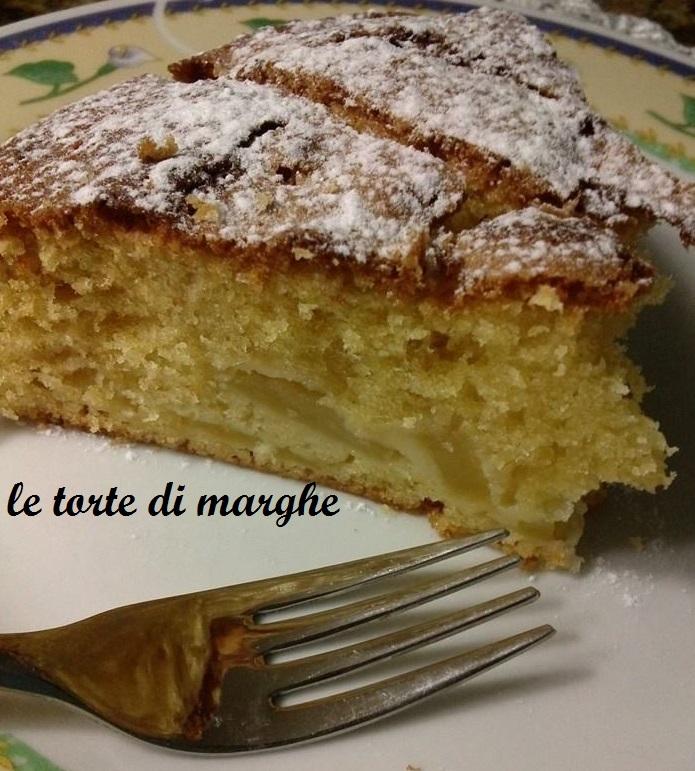 Torta Di Mele Morbida E Soffice Le Torte Di Marghe