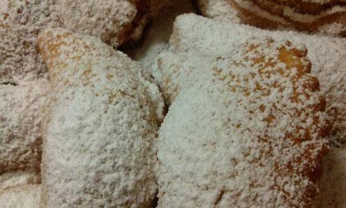 Ravioli di castagne fritti lucani per natale