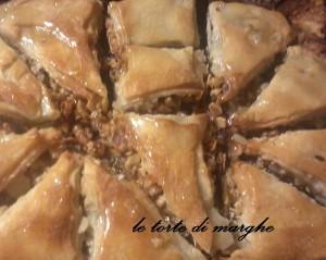 Baklava dolce Turchia