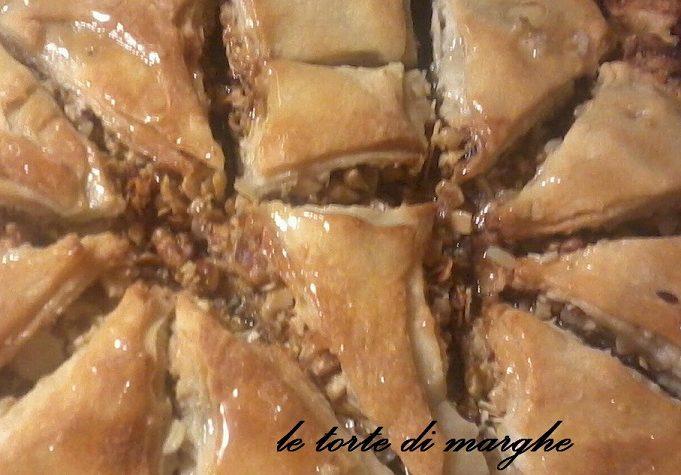 Baklava dolce Turchia italianizzato