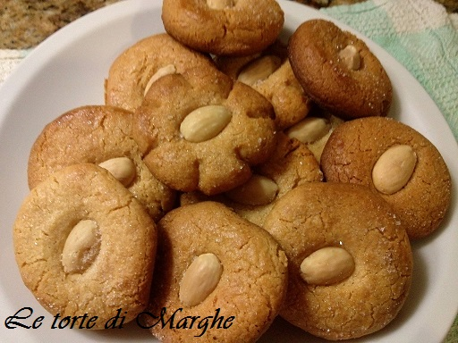 Biscotti pasta di mandorle