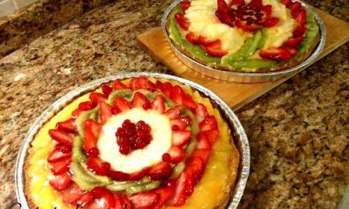 Crostata alla frutta fresca ricetta…..