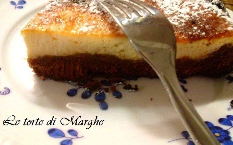 Cheesecake cotta al forno con ricotta…