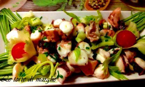 Polpo in insalata ottimo antipasto……