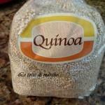quinoa con uva bianca