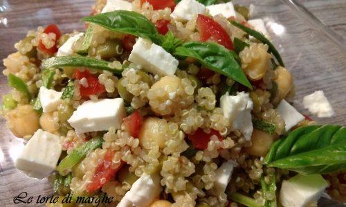 Insalata di quinoa con verdure e feta…