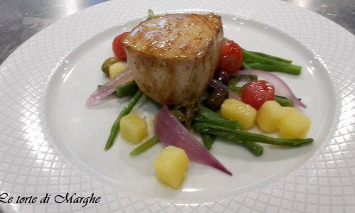 Trancetti di pesce spada con verdure….
