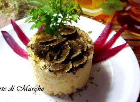 Risotto al tartufo nero fresco ricetta..
