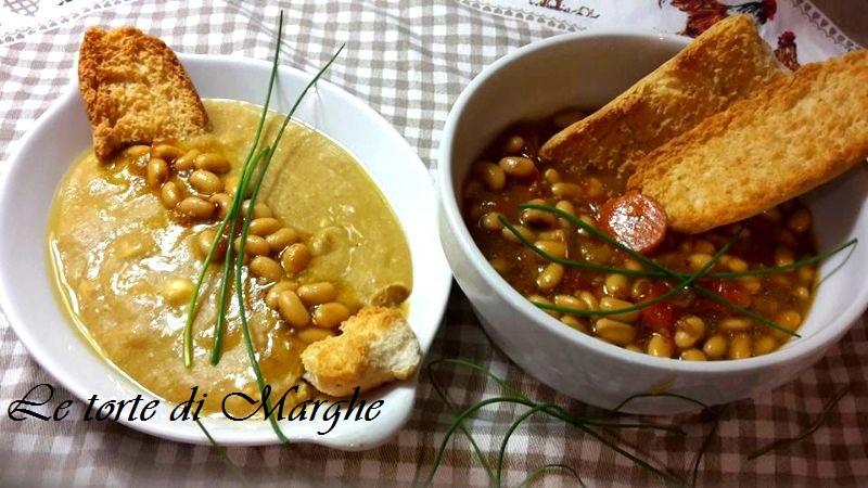 Zuppa e vellutata con fagioli di soia…