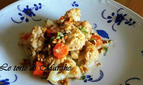 Cavolfiore e carote con masala ricetta..