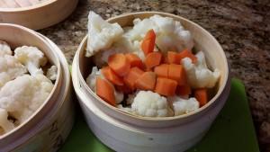 cavolfiore e carote con masala