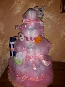 video torta di pannolini