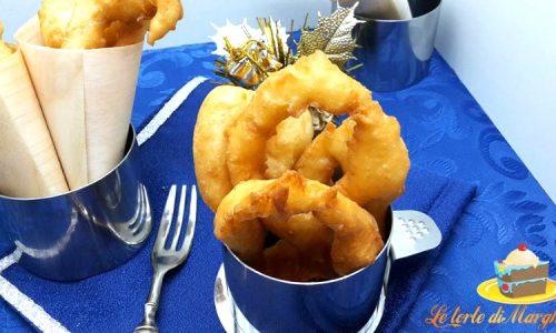Crespelle di natale tipico piatto lucano