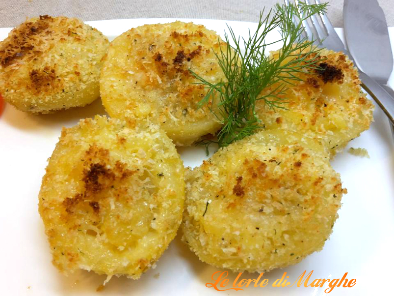 Cestini di patate farcite