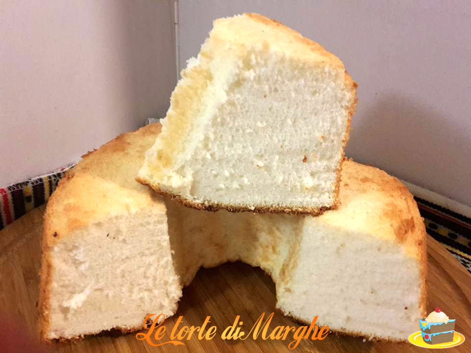 Angel cake dolce americano