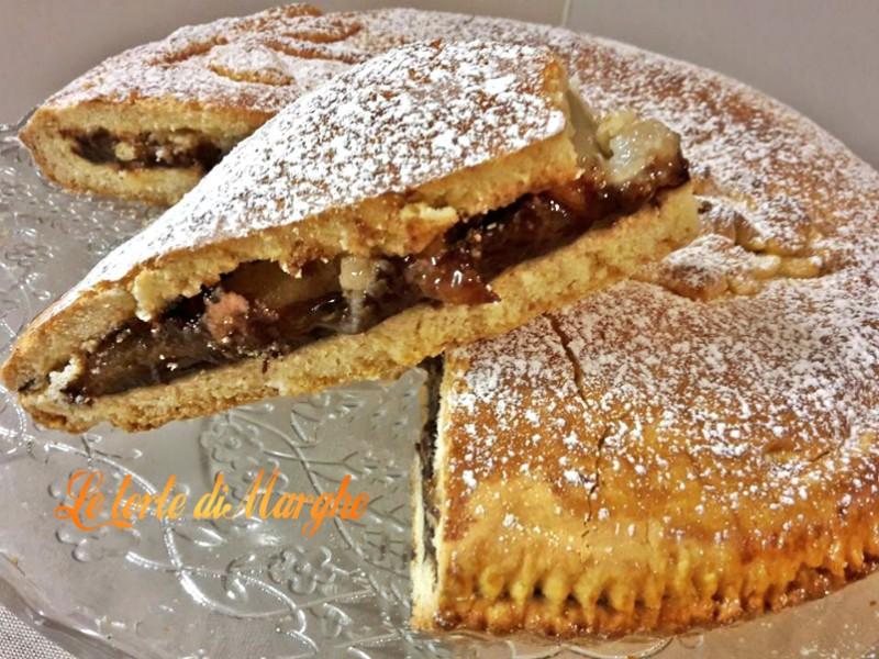 Crostata Pere E Cioccolato Le Torte Di Marghe