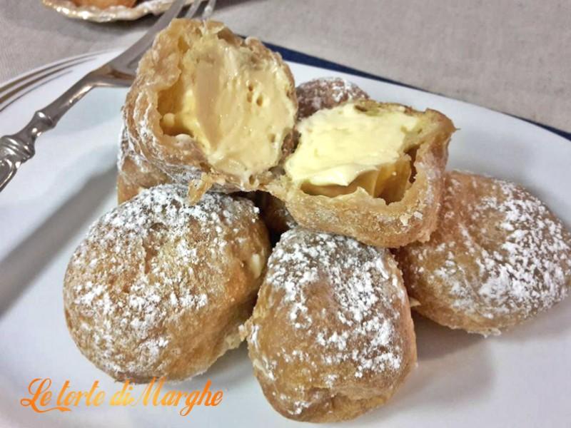Frittelle Alla Crema Zabaione Le Torte Di Marghe