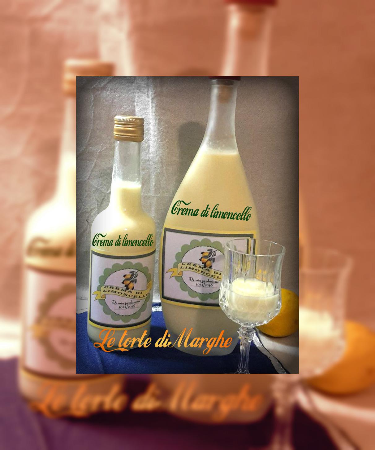 Liquore crema di limoncello